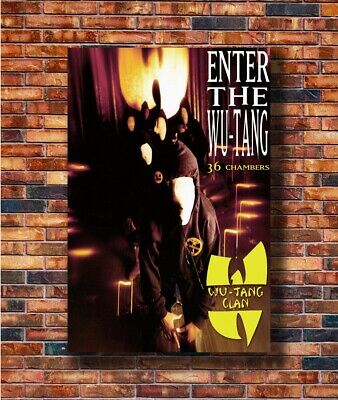 Art Poster The Wu-Tang Clan RZA Hip Hop Group Music 14x21 24x36 Hot Y97