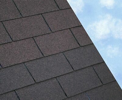 BROWN SUPER 3 Tab Felt Roofing Shingles   3 sqm packs   Free Delivery