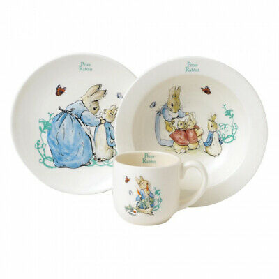 Beatrix Potter Three-Piece Nursery Set: Peter Rabbit, Flopsy Mopsy & Cotton-tail