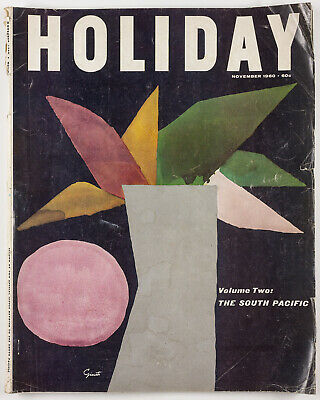 Ian Fleming NGAIO MARSH Burt Glenn GEORGE GIUSTI South Pacific  HOLIDAY magazine