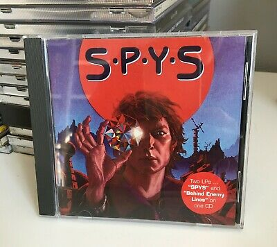 SPYS SPYS/Behind Enemy Lines CD 2000 Melodic Hard Rock AOR 2 LPs on one CD
