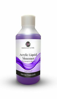 JND Acrylic Liquid Monomer Professional Salon Quality False Nails Nail Art 100ml
