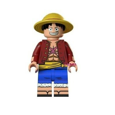 G3 - Monkey D. Rufy One Piece - Custom MOC Minifigures Compatibile LEGO - Nuovo