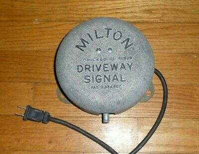 Milton Driveway Bell Chime Electric Gas Station Customer Alert Magic Sound