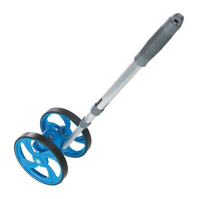 Silverline 0 - 9999.9m Mini Measuring Wheel Measuring Wheels
