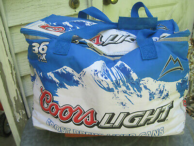Collectibles COORS LIGHT ROCKIES 2 BEER CAN COOLER 16oz COOZIE ...