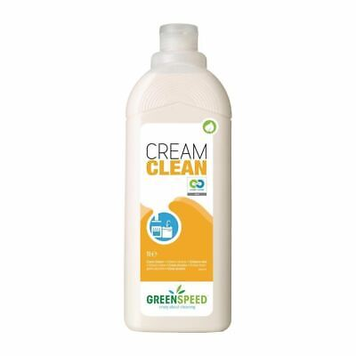 Greenspeed Cream Cleaner and Degreaser - Unperfumed - Ready to Use - 1L x 12