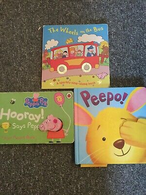 Toddler Board Books X 3