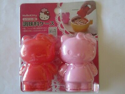Hello Kitty Salt and Pepper Kitchen Red & Pink, NEW