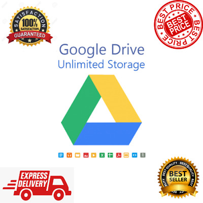 Unlimited Google Drive Storage ✔️ Your Existing Account ⭐ Lifetime Storage ✔️