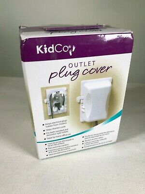 AMAZING KidCo Outlet Plug Cover MOMMY HELPER CHILD PROF
