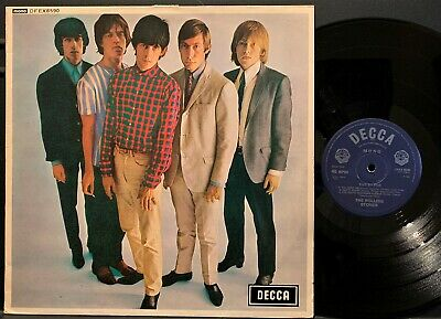 """The Rolling Stones Five By Five UK 1964/1982 RE MONO 45 RPM 5 Track 12"""" EP NM"""