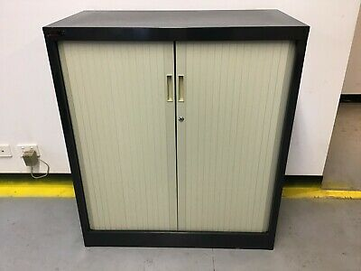 Brownbuilt Metal Tambour Cabinet Commercial Office Storage *Delivery Available*