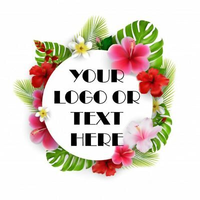 Printed Round Stickers - Custom Logo Labels - Postage Labels -Personalised Logo