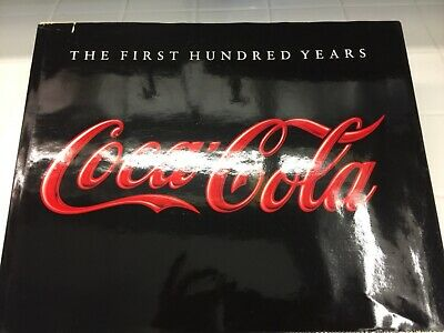 Vintage Coca Cola History Book Americana Advertising Coffee Table Reference