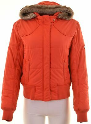 CHAMPION Girls Windbreaker Jacket 15-16 Years Large Red Polyamide  KE05