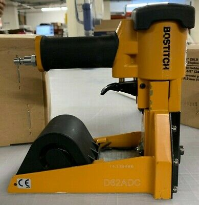 Stanley Bostitch D62ADC Pneumatic Carton Top Stapler And Over 66,000 Staples