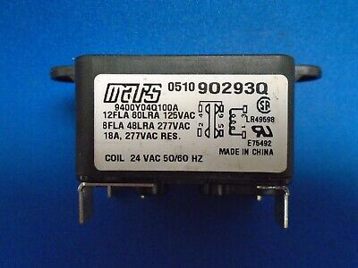 Source 1 9400 Series Relay 24 VAC 50//60 Hz Amps Res 25A S1-S90-370 New