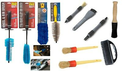 11-Piece Cleaning Brush Set Detailing Valeting Car Cleaning Washing Wheel etc