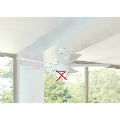 Merwry 52 In Led White Ceiling Fan Replacement Parts 9