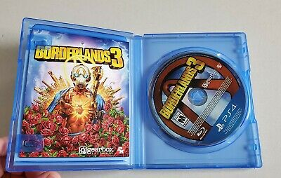 Gearbox Software PS4 Borderlands 3 - VGC With Case & Phamplet Inside FREE SHIP