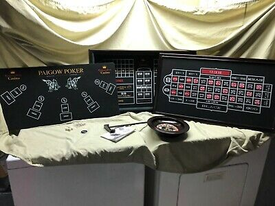 6 In 1 Casino Game Table