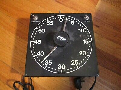 Gralab No. 300 60-Minute Darkroom Timer, Luminous Dial,Safelight,Enlarger Timing