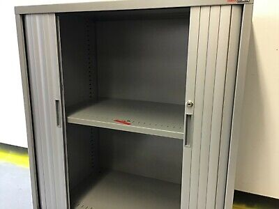 Codafile Metal Tambour Cabinet Commercial Office Storage w/Key *Deliv. Available