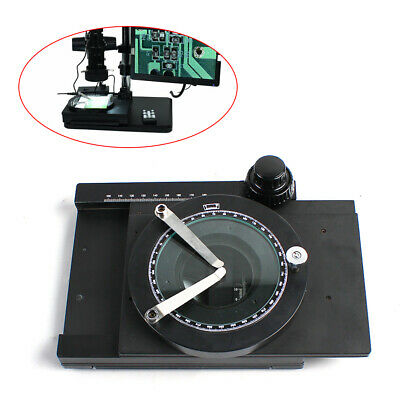 Microscope Mechanical XY Axis Precision Mobile Platform Fine Tuning Moving Stage