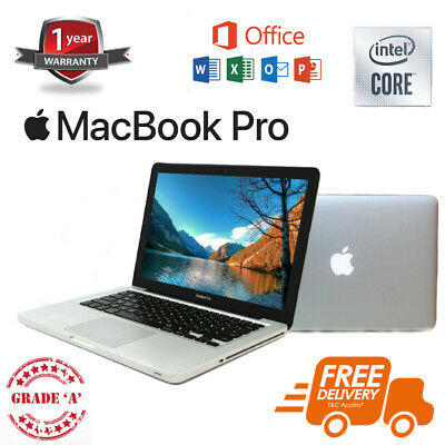 "Apple MacBook Pro 13.3"" - Core i7 2.9 GHz - 8GB RAM - 500GB - A GRADE"