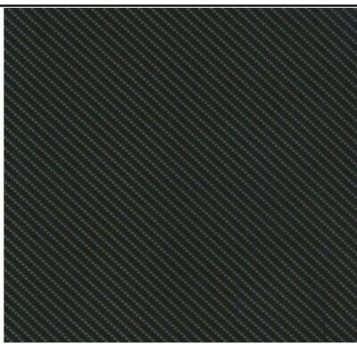 Carbon fibre hydrographic film hydro dipped 100cm width and various lengths