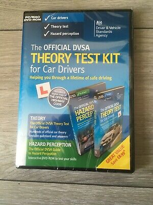 The Offical DVSA Theory Test Kit For Car Drivers DVD