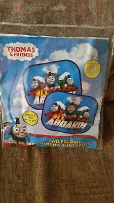 Thomas & Friends Pack Of Two Folding Window Sunshades New In Pack