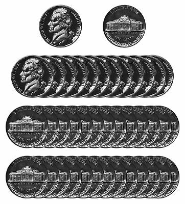 1963 Jefferson Nickel Gem Proof Roll (40 pcs) Coin