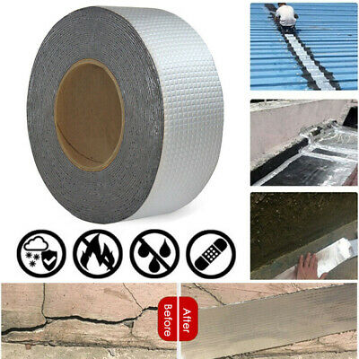 Super Strong Chic Waterproof Tape Butyl Seal Rubber Aluminum Foil Tape