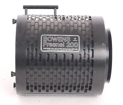 Bowens Fresnel 200 with S Mount attachment  BW2914 (5344BL)