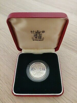 1983 Royal Mint Silver Proof £1 One Pound Coin