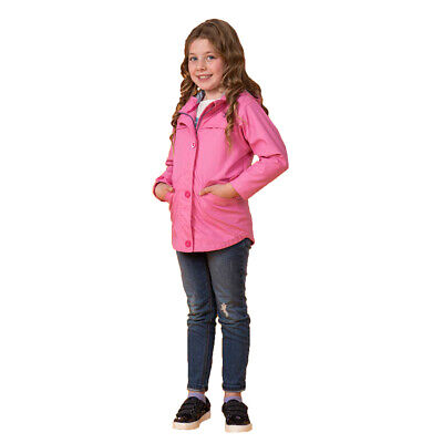Lighthouse Girls Sophia Waterproof Jacket Coat, Sweet Pea Pink