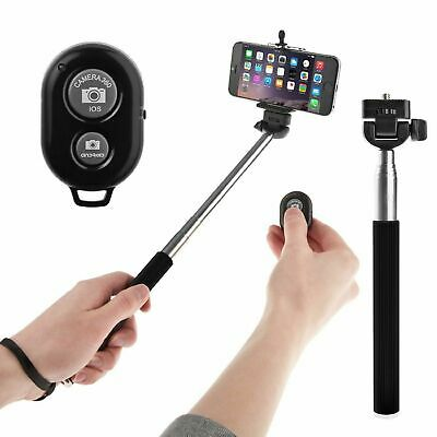 Extendable Monopod Selfie Stick with Bluetooth Remote control for smart Mobiles