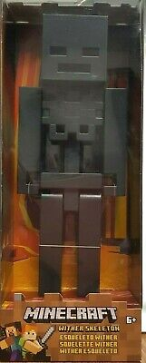8 bit Game authentic articulation Collectible minecraft wither skeleton NIB