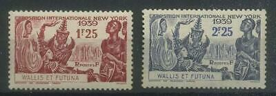 French Colonies, Wallis and Futuna 1939 Michel 80-81 MNH**