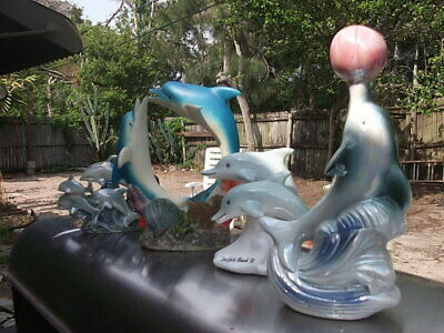 Lot of Four Fun Dolphins  Figurines