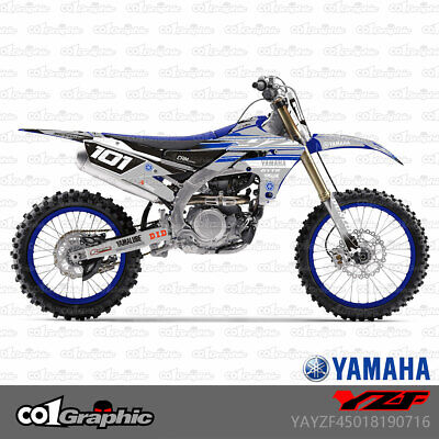 style 004 Kungfu Graphics Custom Decal Kit for 2014 2015 2016 2017 Yamaha YZF450 YZF 450 YZ450F YZ 450F
