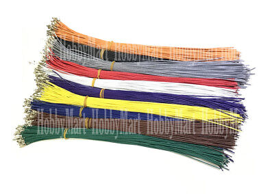 KF2510 2.54mm Female Crimp Terminal Contact Pin with 10 of Colorful 300mm wire