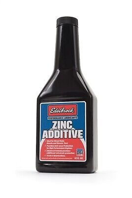 1074 Edelbrock 1074 High Performance Zinc Engine Oil Additive