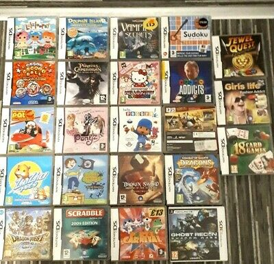 DS Dsi 3Ds 2Ds Xl Game Choose your Game