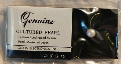 Vintage Olson Electronics Cultured Pearl
