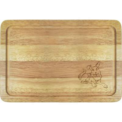 'Resting Dog' Wooden Boards (WB025876)
