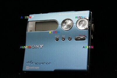 Sony Mz N910 Minidisc Recorder Player Net Md With Microphone ..