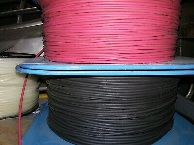 Belden  20 awg Red and Black test lead wire 5,000V Sold in 10 ft. Increments